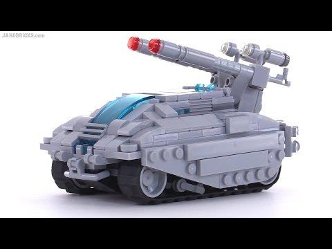 LEGO Medium Assault Laser Tank - custom MOC reboot