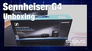 Sennheiser G4 112P and 135P Microphone Kits - Unboxing
