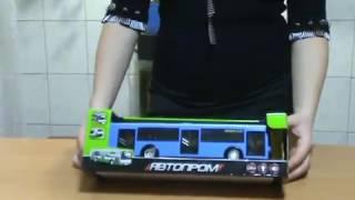 Автобус 9690 D, PLAY SMART, автопарк маршрут, інерційний