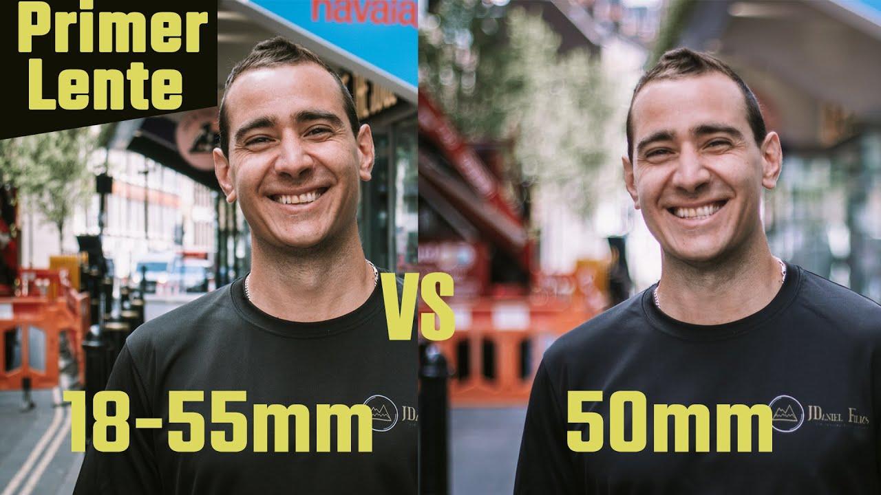 CANON 50mm f1.8 vs 18-55mm kit - FOTOS y VIDEOS de Ejemplos - Español