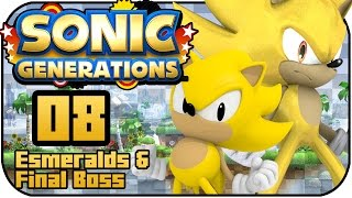 Sonic Generations PS3 - # The End - Esmeralds & Final Boss En Español