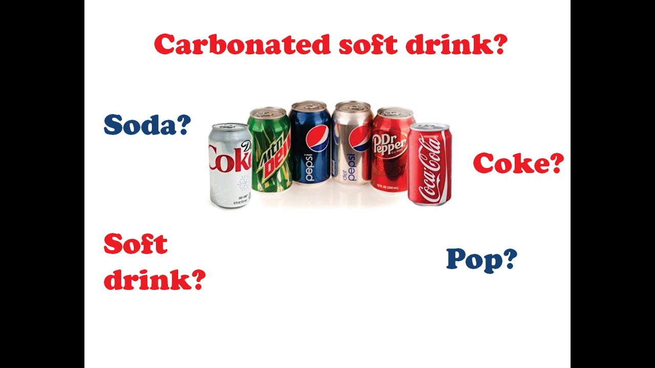 Como Se Diz Refrigerante Em Inglês?