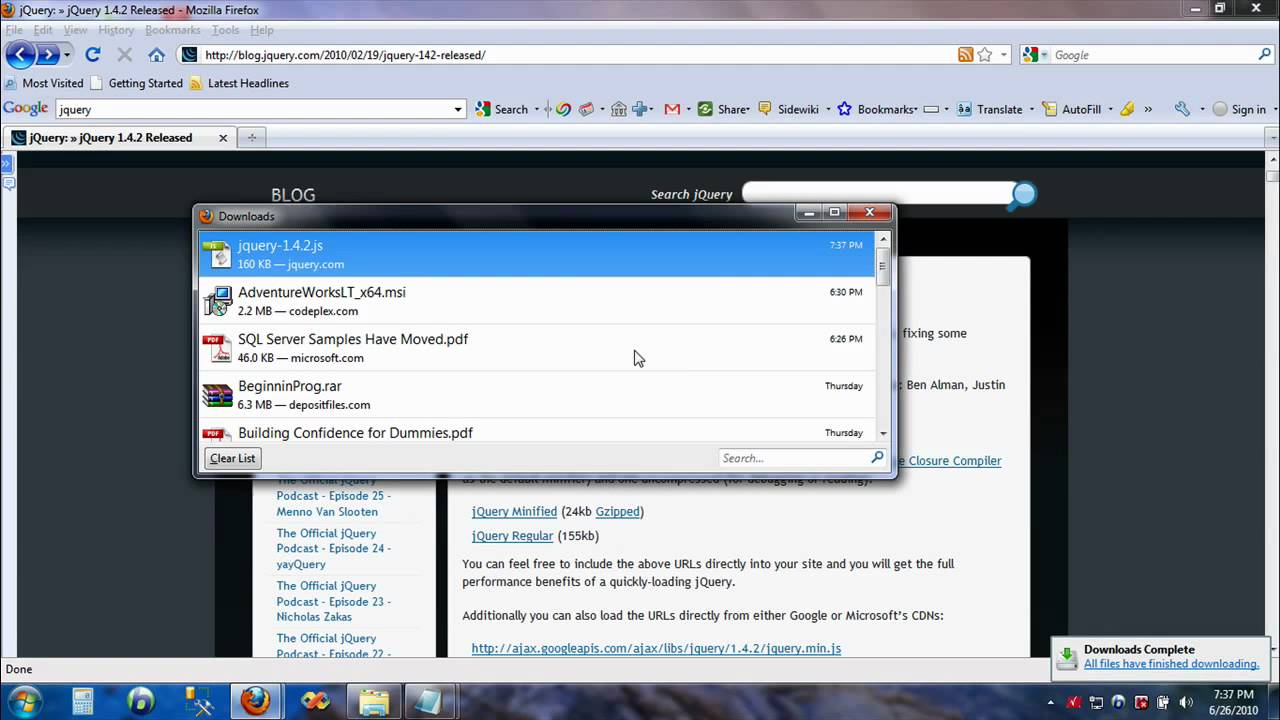 Jquery easy tutorial from scratch youtube baditri Image collections