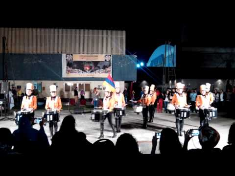 Yerevan Drums little show near Cairo Opera house 2015