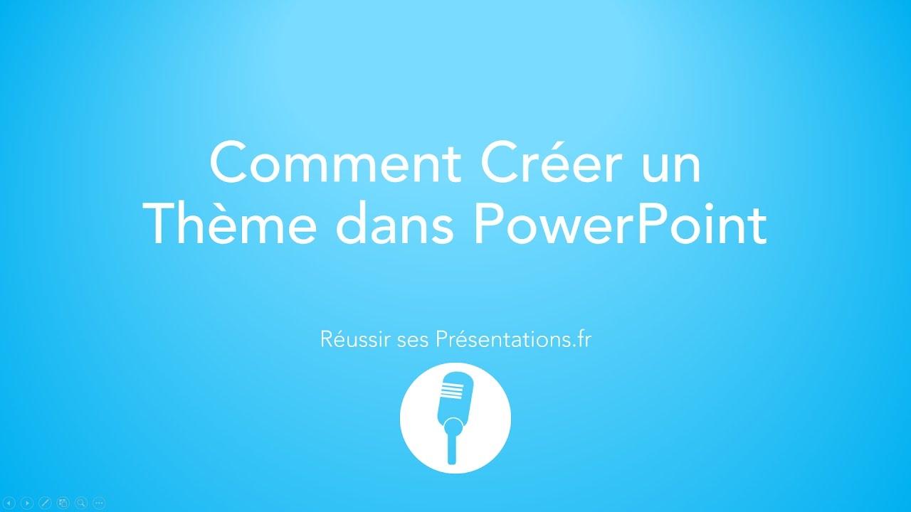 Complètement et trop extrême Comment Créer un Template PowerPoint - YouTube &FG_88
