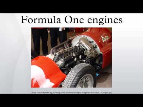 Formula One engines