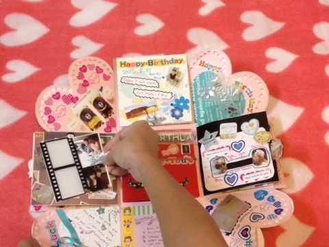 DIY Handmade Gift Box Or Card For My Boyfriend By Carina