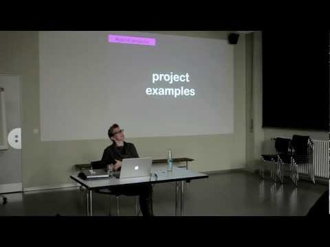 "Lecture: ""Interaction Design: A multipath Creative Process"" by Dana Gordon"
