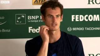 Defeat in Monte Carlo will motivate me - Andy Murray