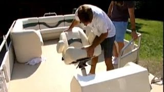 Ship Shape Tv - Veada Boat Seats - Pontoon Restoration 2013