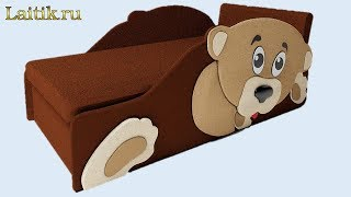 видео Детский диван Соня 10