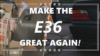 Peinture du Pare-choc M3 et Panneaux de Porte  - MAKE THE E36 GREAT AGAIN! #4