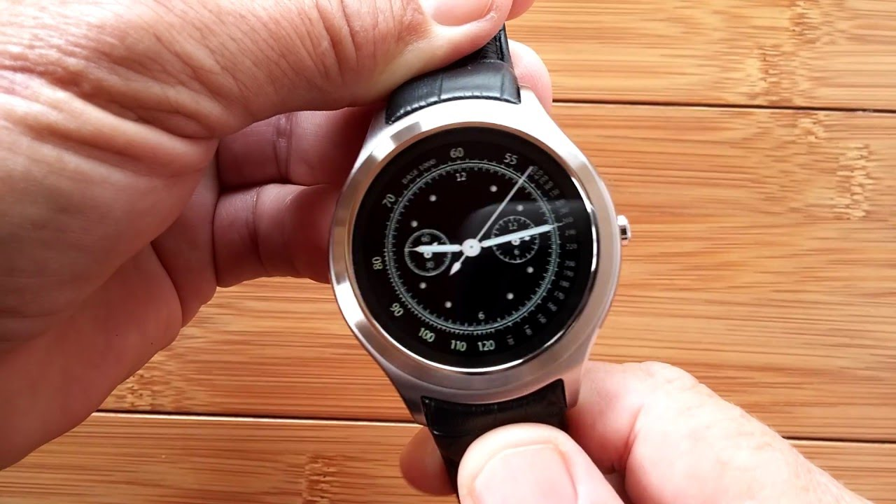 rohs smart watch how to add clock face