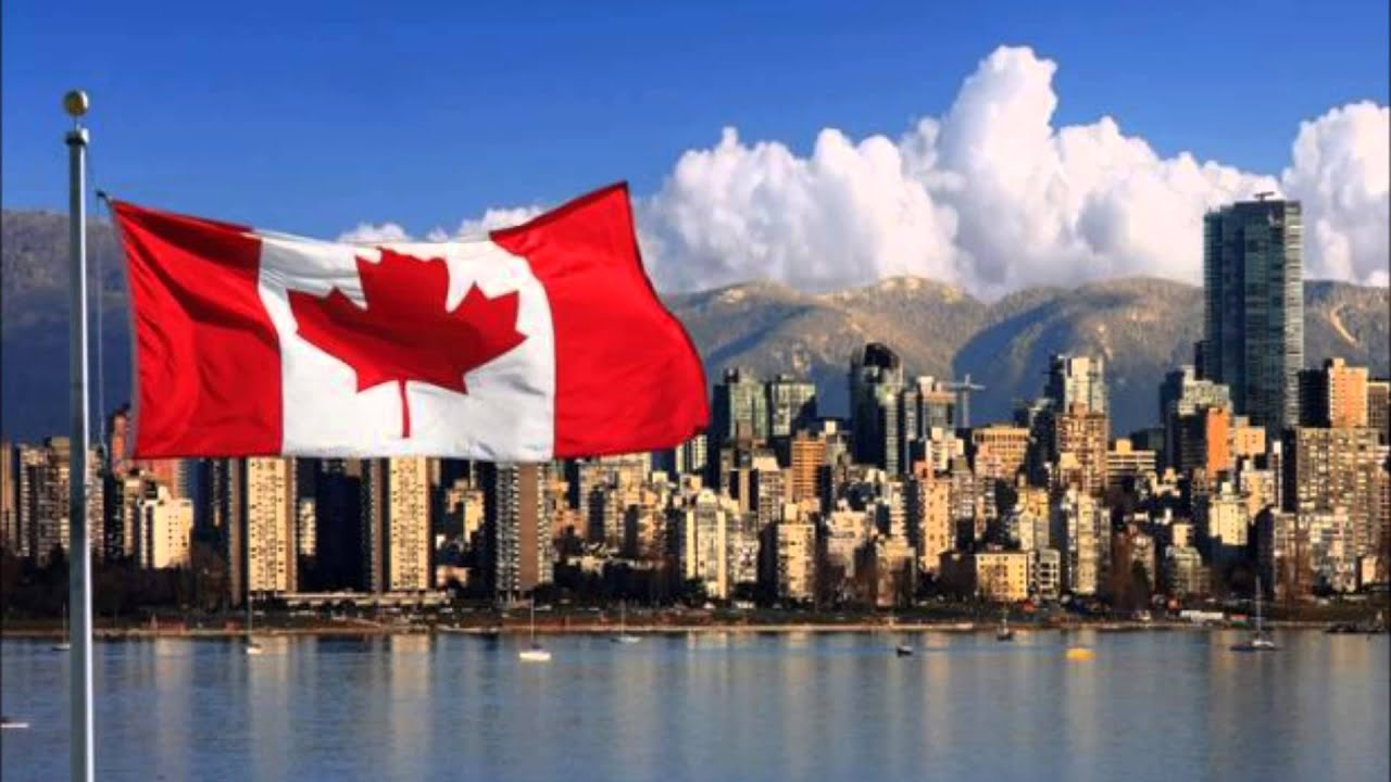 Canada flag song - Rally around the new flag - YouTube