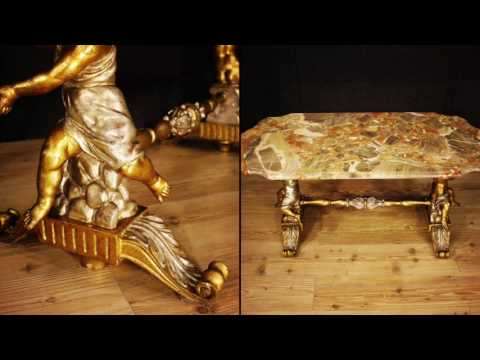 Italian coffee table of the 20th century. Antiques and decorative shop online