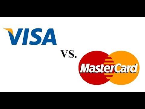 Visa Vs. Mastercard - какую компанию выбрать? Visa - оценка автора 8*