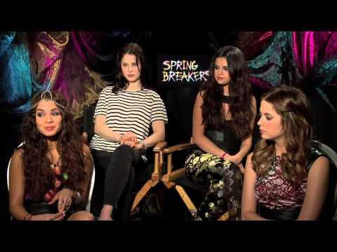 Selena Gomez, Vanessa Hudgens, Ashley Benson and Rachel Korine talk