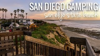 [RV Life & Travel] San Elijo State Beach Campground || Cardiff & Encinitas || Southern CA [Ep129]