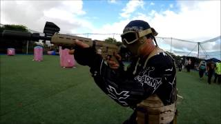 Monthly speed tournament at hawaii extreme paintball and airsoft.
