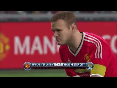 PES 2016 Penalty Shootout: Manchester United vs Manchester City