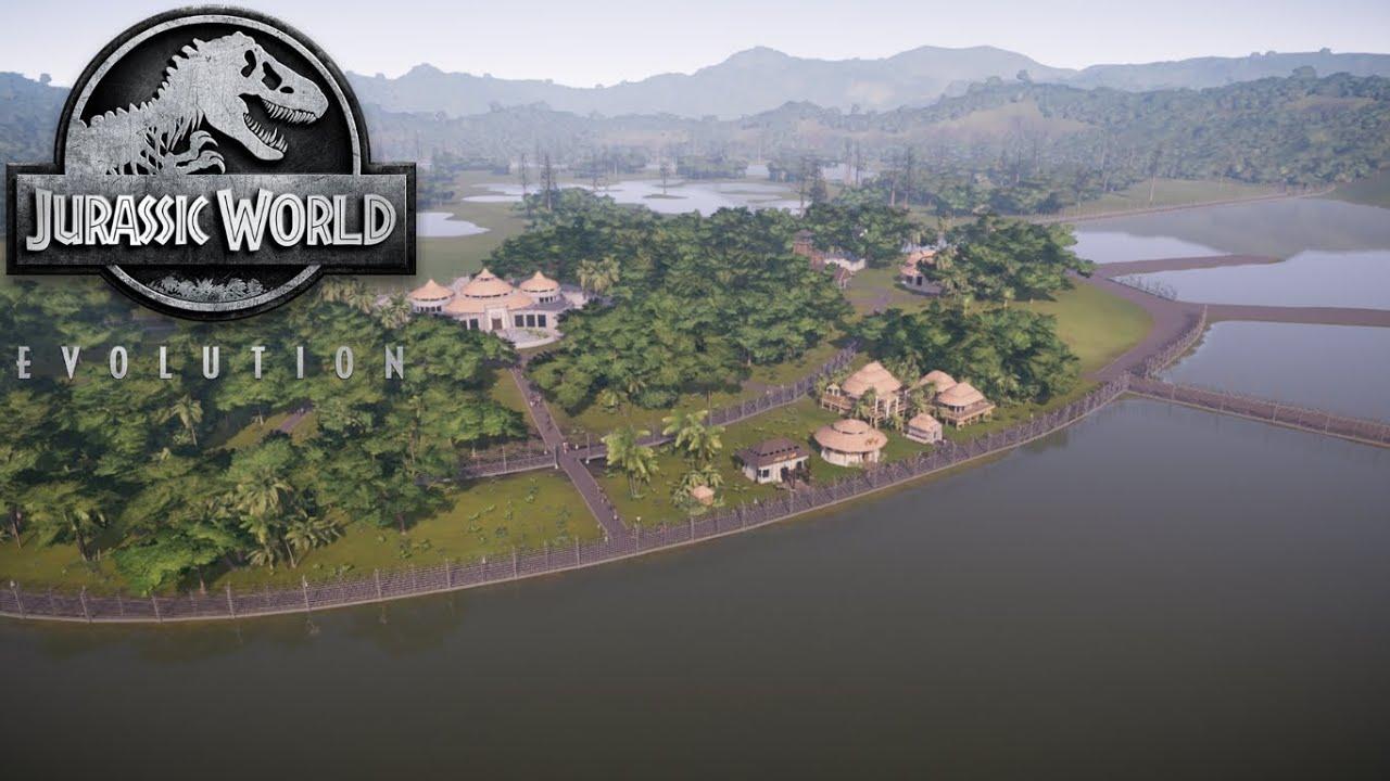 Jurassic Park Concept Art Park!! (JWE)