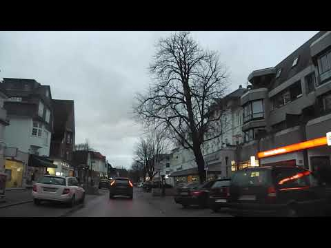 Autofahrt Hamburg Othmarschen, 25. Dezember 2019, 16 Uhr, Germany