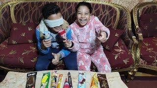 تجربة الأيسكريمات مع مرام ومازن !