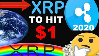XRP (Ripple) Hitting $1 In 2020 | XRP Huge News!