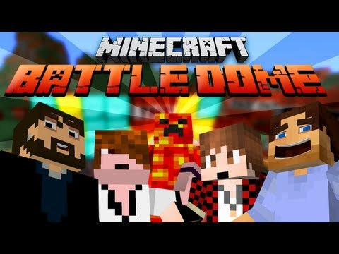 BATTLE-DOME RETURNS! (Minecraft Battle-Dome PVP with friends! GAME 1)