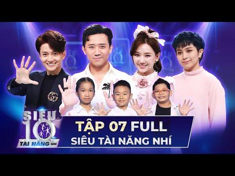 SIÊU TÀI NĂNG NHÍ TẬP 7 FULL | Trấn Thành, Hari Won, Ngô Kiến Huy so tài RUBIK trên sân khấu STNN 7