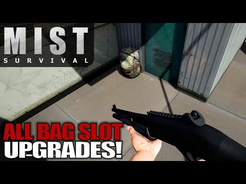 ALL BAG SLOT UPGRADES! | Mist Survival | Let's Play Gameplay | S01E09