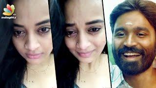 Dhanush makes Malayali actress Suja Varunee cry