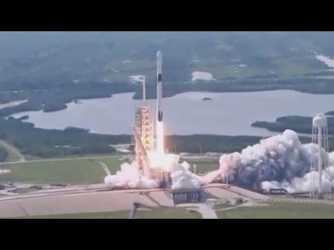 Upgraded SpaceX Falcon 9 rocket launched