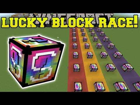 Minecraft: HORRIBLE NETHER LUCKY BLOCK RACE - Lucky Block Mod - Modded Mini-Game