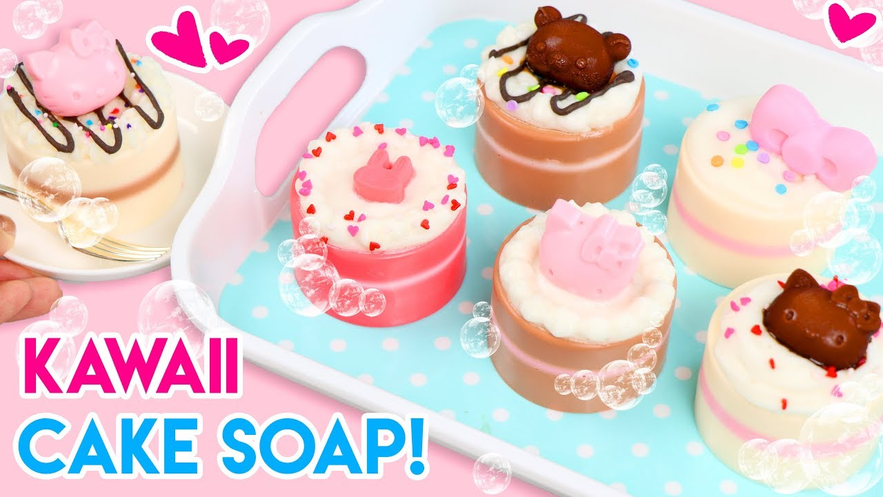 How To Make Diy Mini Cake Soap