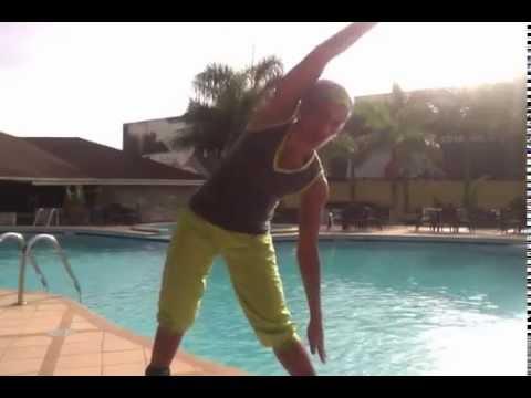 Faith & Fitness Day 8:  Quick Exercises at Oak Plaza Hotel (Accra, Ghana)