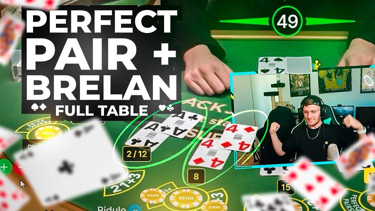 🃏 DOUBLE PERFECT Pair & BRELAN en FULL TABLE ! ~ (BEST OF BIDULE #122)
