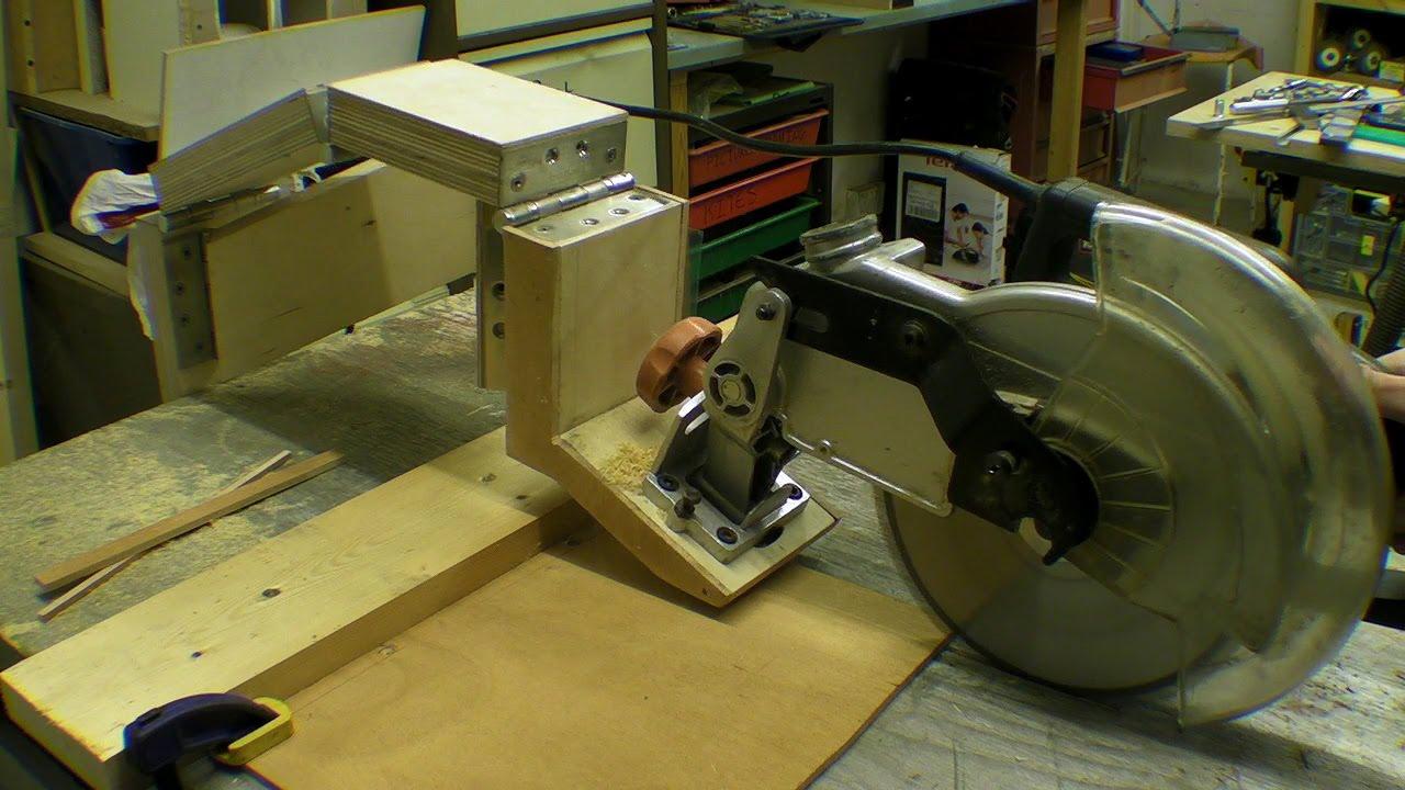 Diy Glide Mitre Saw Rail Free Chop Saw Axial System