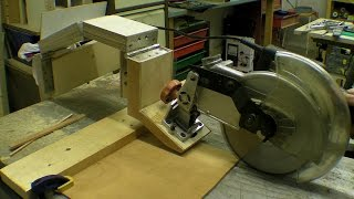 DIY Glide Mitre Saw / Rail Free Chop Saw / Axial System