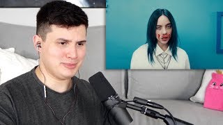Gambar cover Vocal Coach Reacts to Billie Eilish - Bad Guy