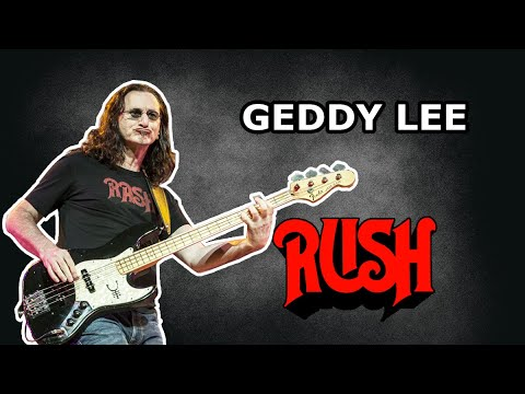 Geddy Lee Bass Rig - RUSH - Know Your Bass Player