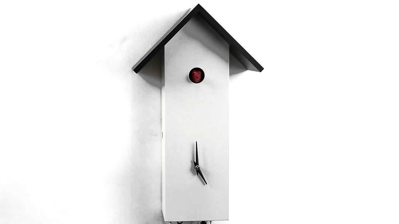 kuckucksuhr modern cuckoo clock modern 33422 youtube. Black Bedroom Furniture Sets. Home Design Ideas
