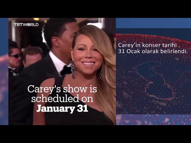 Mariah Carey Suudi Arabistan'da sahne alacak mı?