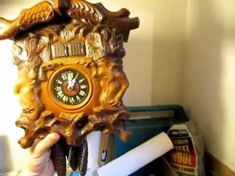 East German musical cuckoo clock
