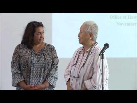 Office of Hawaiian Affairs (OHA) East Hawaii Council for Native Hawaiian Advancement (CNHA) Presents
