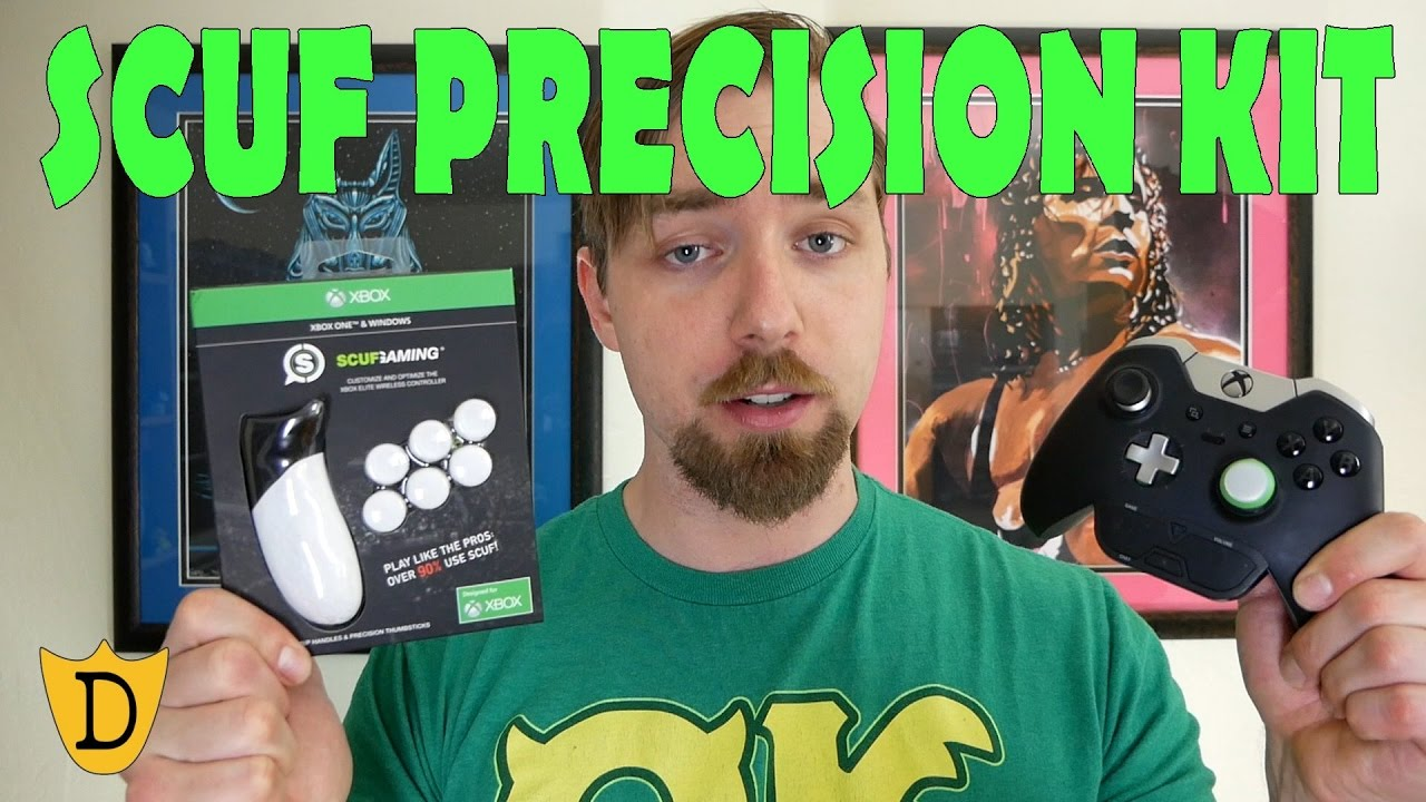 Scuf Gaming Elite Precision Thumbsticks and Pro Grip Handles Green xbox/_one Only Compatibile With Xbox One Elite Wireless Controller