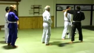 Kit Dale starts a fight at a karate club