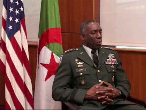 General William Ward Interview on Algerian TV, part 1