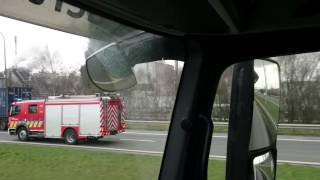 Fire/Explosion/chemical plant Indaver Antwerp