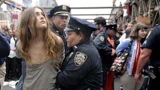 Arrested Naked girls getting